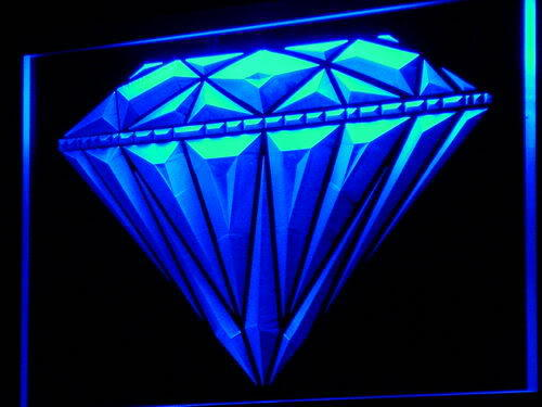 Diamond Shop Display Jewelry Neon Light Sign